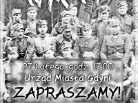 V Marsz Pamięci Żołnierzy Wyklętych - sobota 27.02.2016 godz.17:00 Urząd Miasta