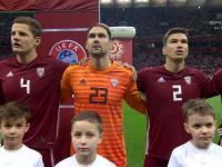 Pavels Steinbors zagrał przeciwko Polsce