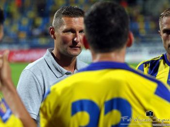 Grzegorz Niciński po odpadnięciu z Pucharu Polski