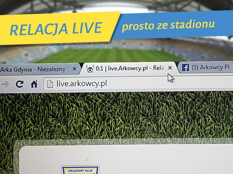 Arka Gdynia - Piast Gliwice (live)