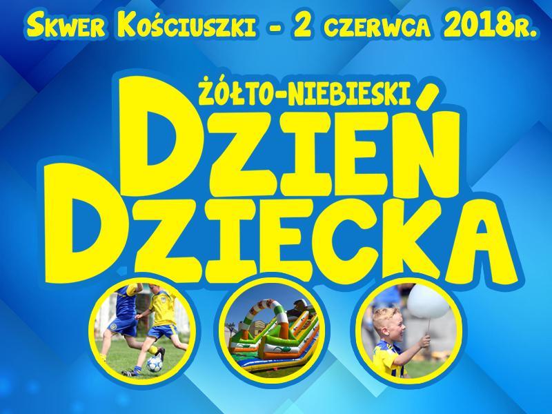 W sobotę Żółto-Niebieski Dzień Dziecka