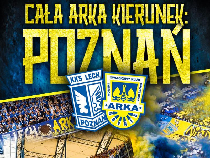 """Zaczynamy """"Poznań""""! Siedzimy na sektorze gości!"""