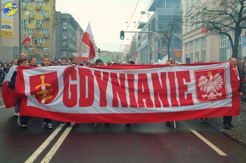 Arkowcy na Gdyńskiej Paradzie Niepodłegłości