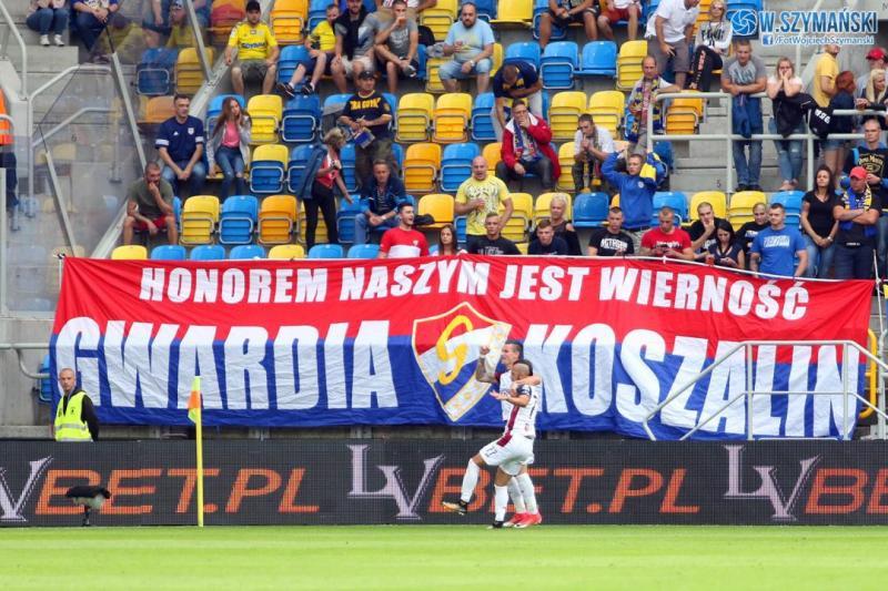 Trybuny: ARKA vs Pogoń Szczecin
